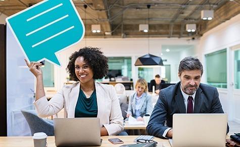 Pessoas fazendo gestão de Negócios